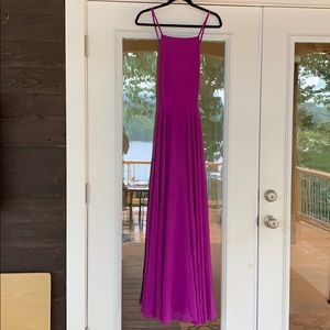 Lulus Magenta Maxi Dress
